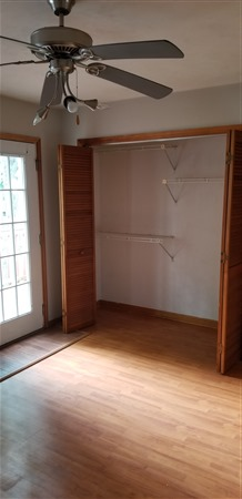 Some bedroom closets at Indian Village are wider